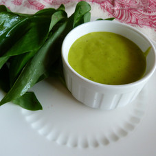 Wild Garlic Mayonnaise made with Rapeseed Oil