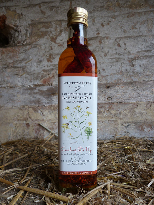 Whatton Farm Sizzling Stir Fry Cold Pressed Rapeseed Oil