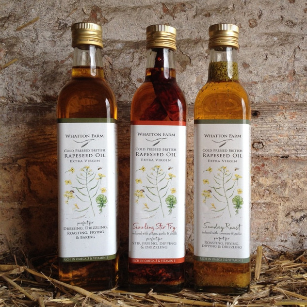 Cold Pressed Rapeseed Oils
