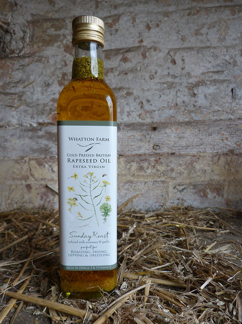 Whatton Farm Sunday Roast Cold Pressed Rapeseed Oil 500ml