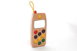 木製おもちゃ 電話