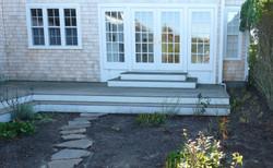Nantucket winter garden