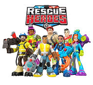 Rescue Heroes Toy Stop-Motion