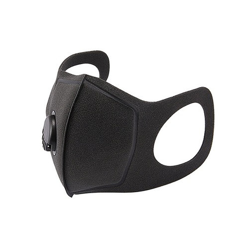 Face Mask Black Washable Filter Respirator