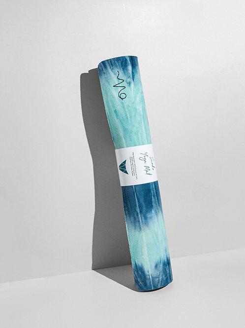 Elite Suede Yoga Mat - North Sea (Vegan & Travel Friendly)