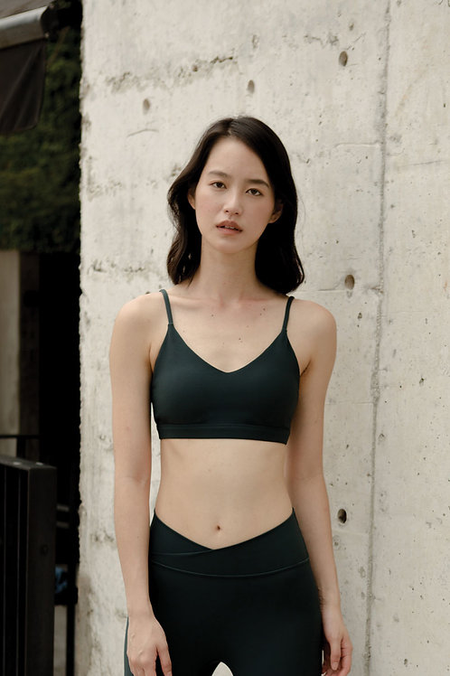 Vitality Ribbed Sports Bra - Magical Forest