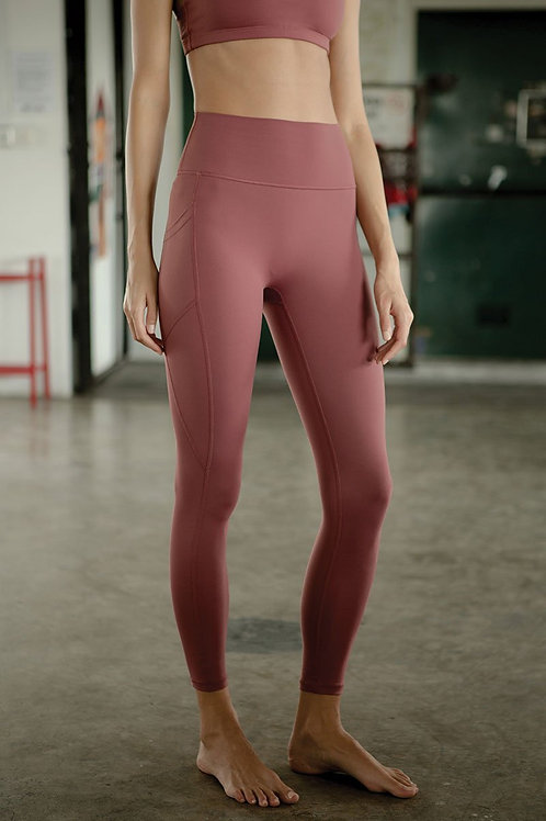 Radiate High-Rise Performance Tights - Apple Butter
