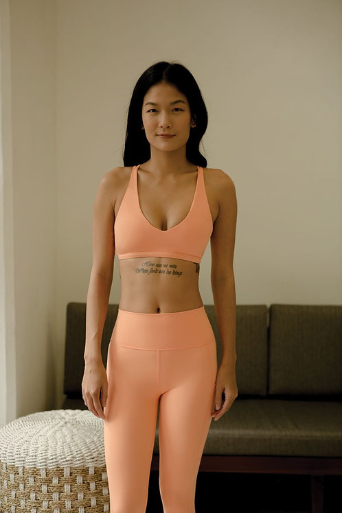 Envision Active Sports Bra - Tangerine