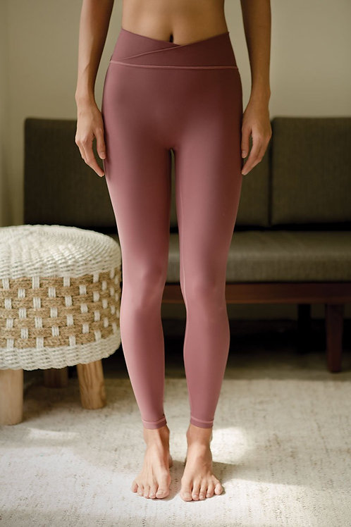 Acceptance Performance Tights - Rose Brown