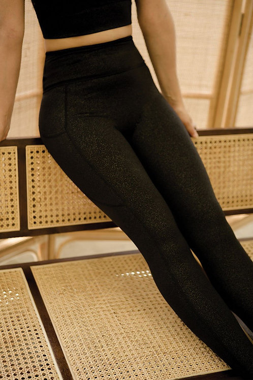 Stay Connected Performance Tights - Glimmer