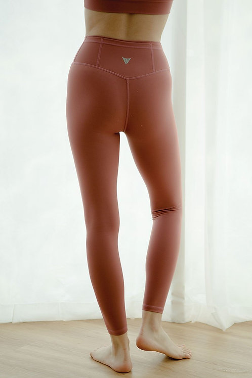 Novelty Elite Performance Tights - Withered Rose