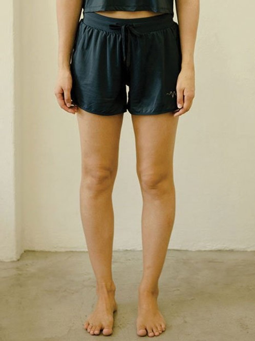 Drift Netted Shorts - Real Teal
