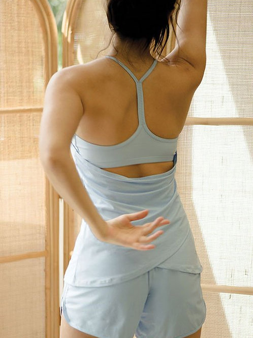 Kinesics Netted Active Tank - Airy Blue