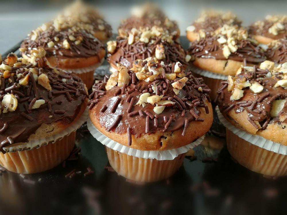 Muffins choco gourmand
