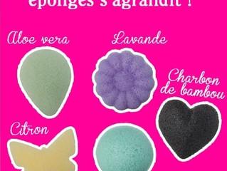 Beauté & Bien-Etre : Lady Green - Eponges Konjac