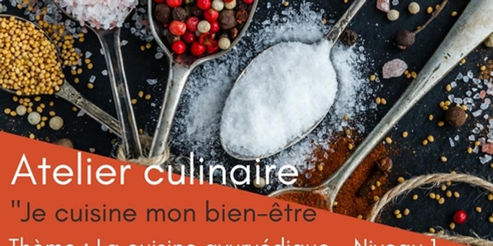 """Atelier """"Je cuisine mon bien-être"""" Découverte de la cuisine ayurvédique (1)"""