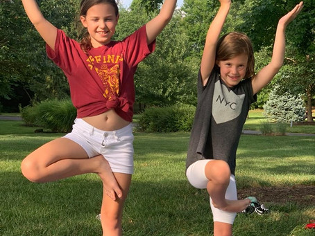 Namaste In Nature - Getting Kids Outdoors