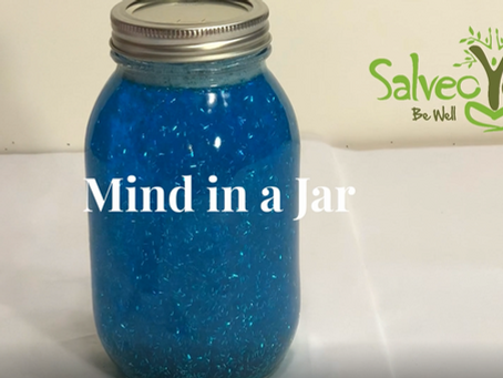 Mind in a Jar - Calming DIY Activity for Kids