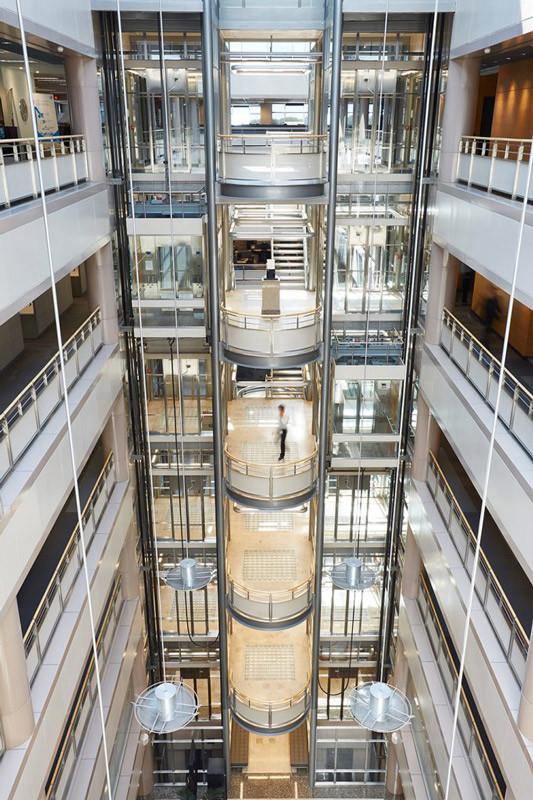 Open Concept Building