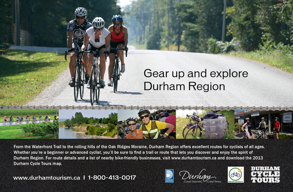 Cycle  Durham Tourism