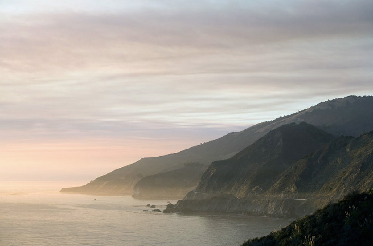 Welcome Dawn  Big Sur California