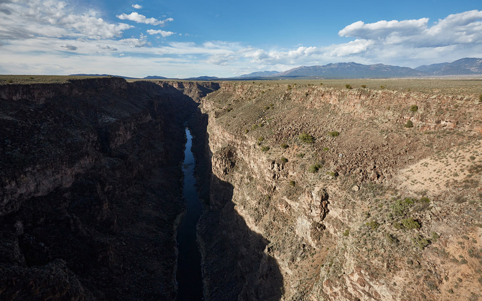 The Gorge  New Mexico