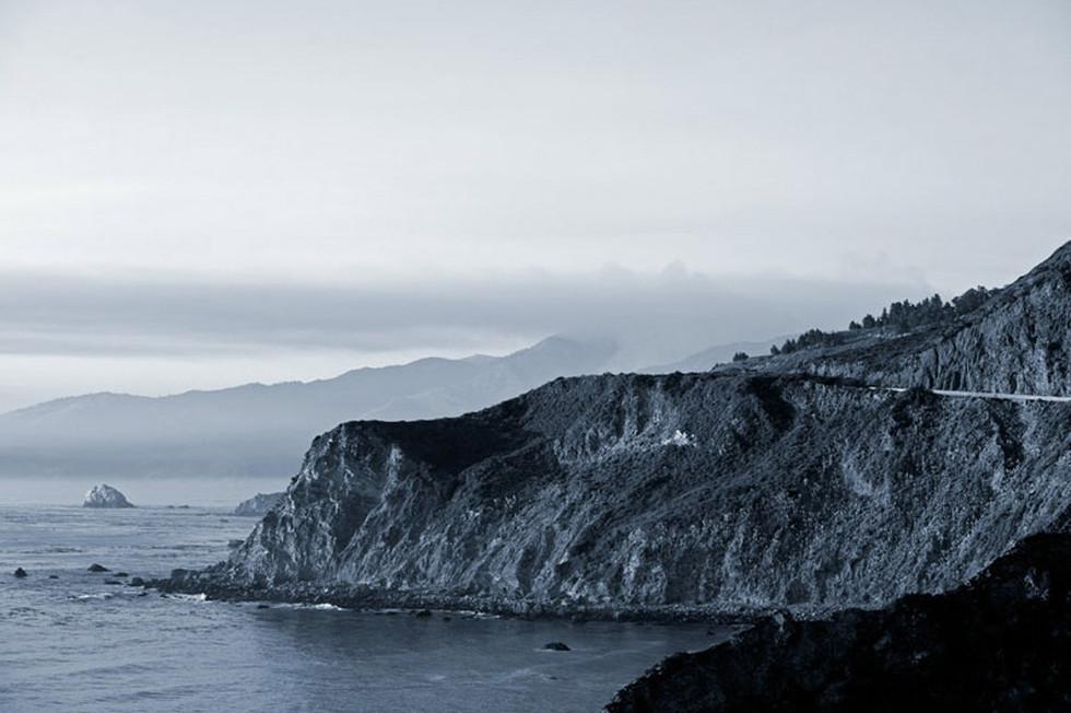 Grey Cliffs  Big Sur California