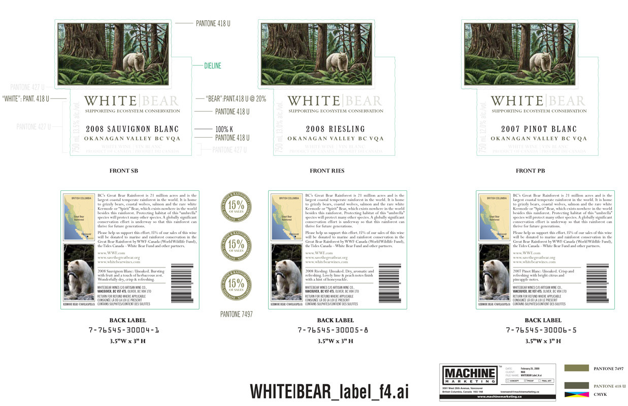 White Bear Wines/Mark Anthony Group