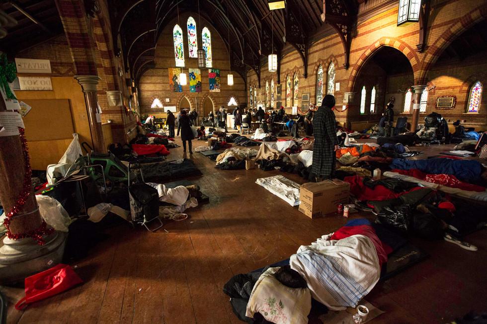 All Saints Church Shelter/Toronto
