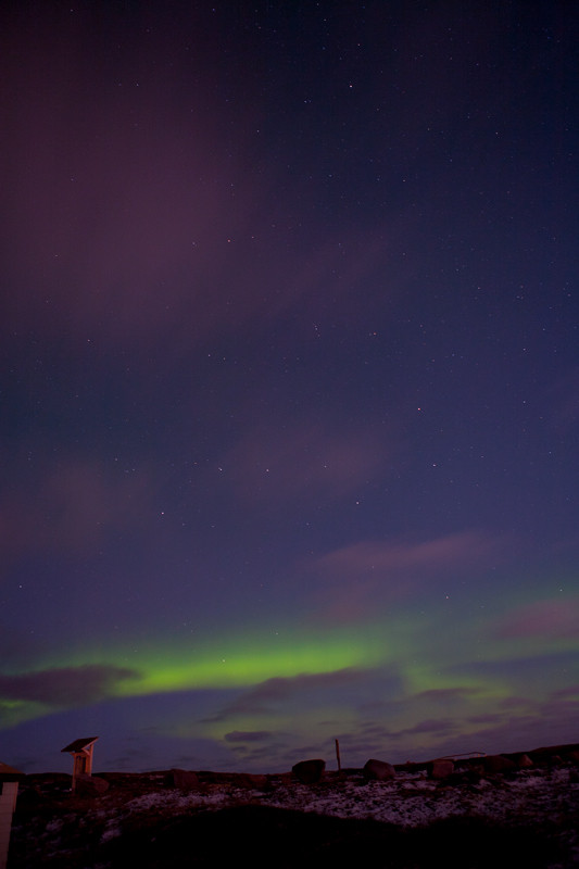 Northern Lights  Churchill Manitoba