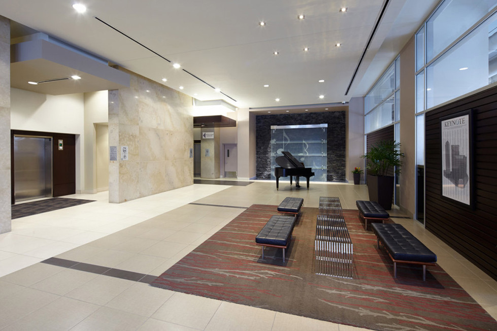 Chic Office Lobby
