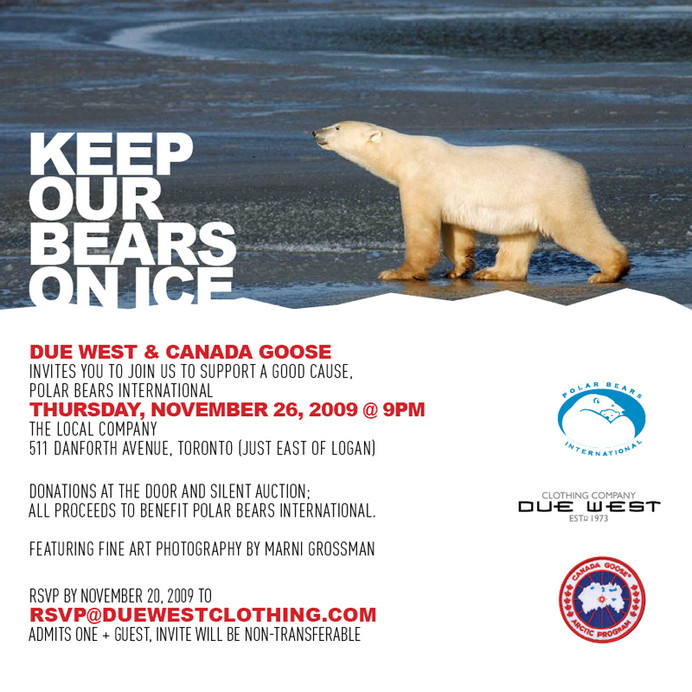 Keep Our Bears on Ice Event
