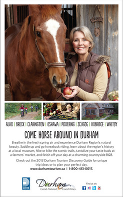 Durham Tourism Horsing Around