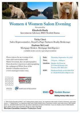 Women 4 Women Salon with BMO