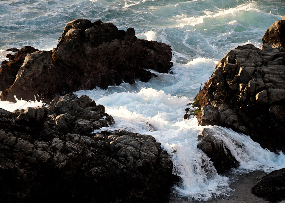 Rockscapes  Big Sur California