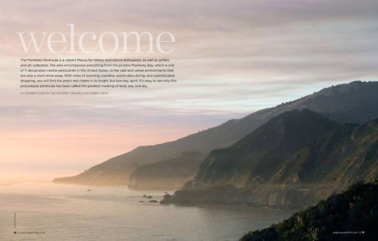 Guest Life Magazine Monterey Bay