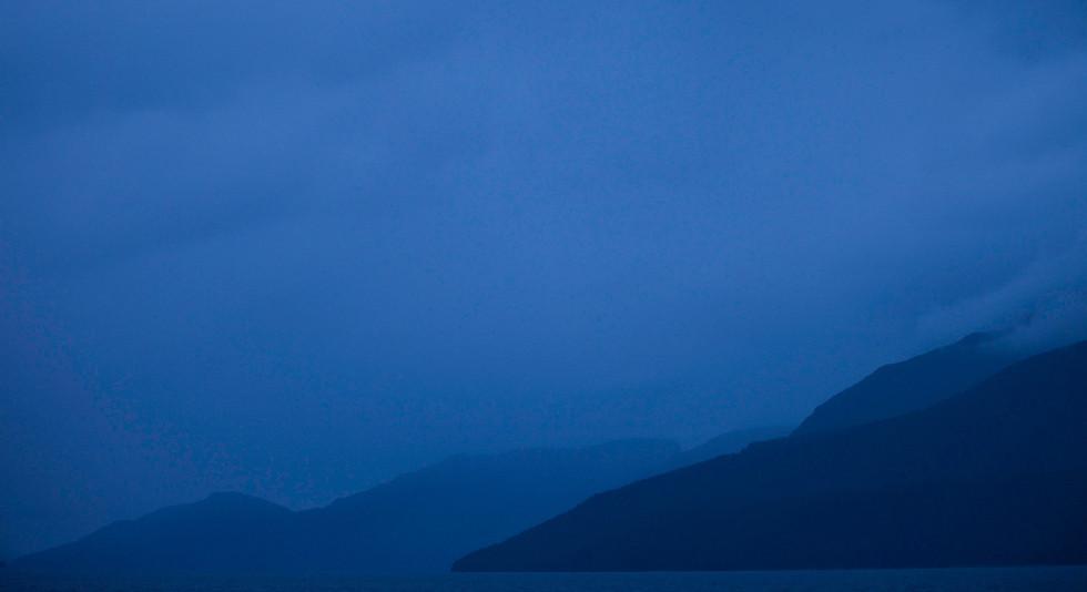 Dusk  Great Bear Rainforest