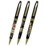 蒔絵のボールペンは海外出張のお土産にぴったりです。