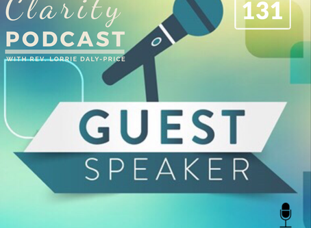 A Moment of Clarity Podcast with Guest Speaker Dianne Smith