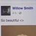 O dia que Willow Smith nos repostou!