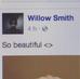 O dia que Willow Smith nos repostou!