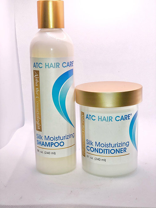 ATC Silk Moisturizing Shampoo and Conditioner Bundle