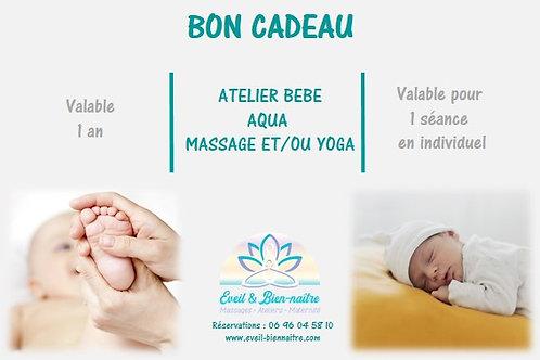 Atelier Aqua Yoga et/ou Massage