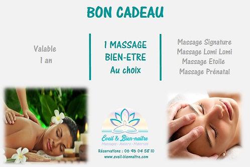 Massage Bien-Etre au choix