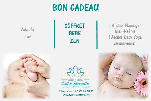 Coffret Bébé Zen