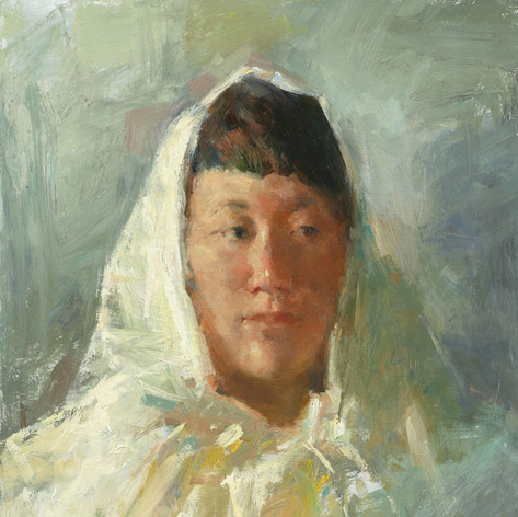 A Girl with Headscarf