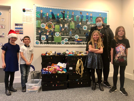 Whitleigh Primary School Supports Emergency Food Scheme