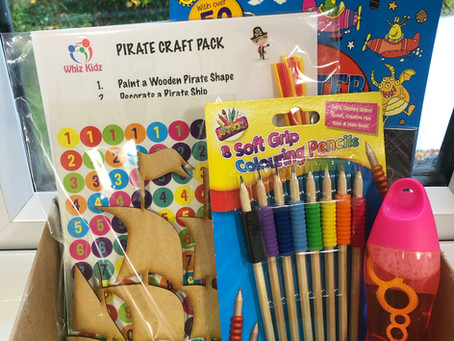 FGCT Provides Activity Packs for Families