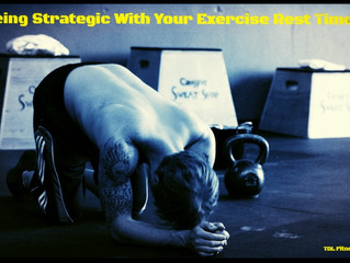 Being Strategic With Your Exercise Rest Time