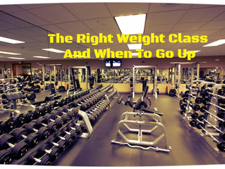 The Right Weight Class And When To Go Up
